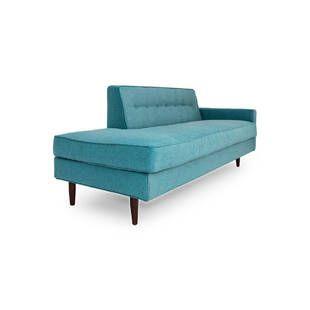 Прямой диван тахта Eleanor, бирюзовый