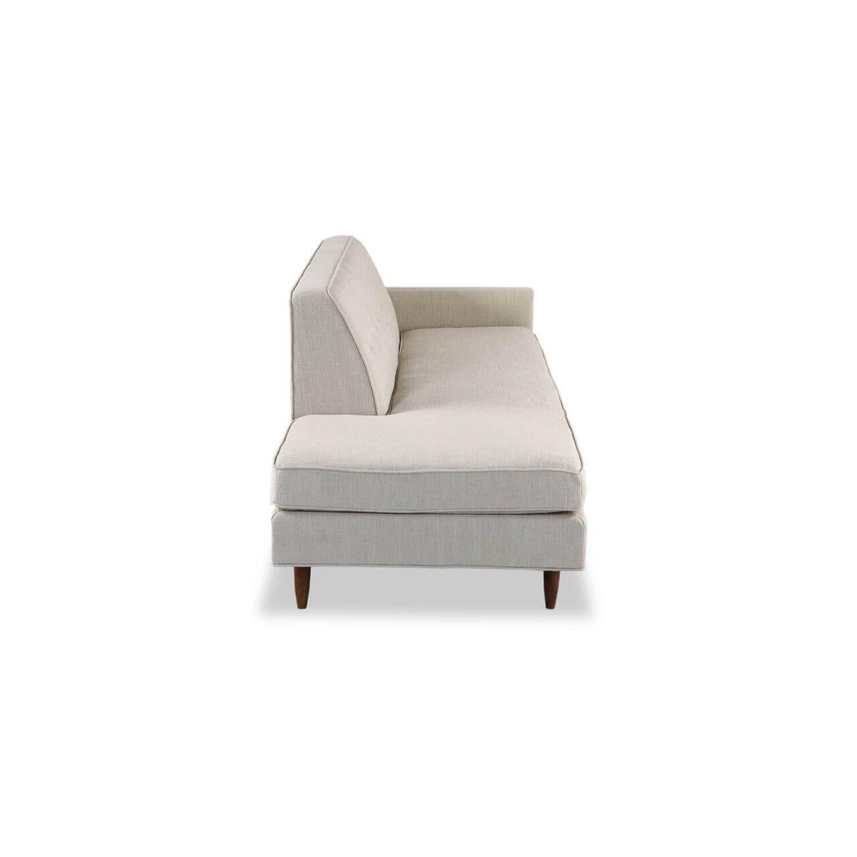 Прямой кремовый диван тахта Eleanor.