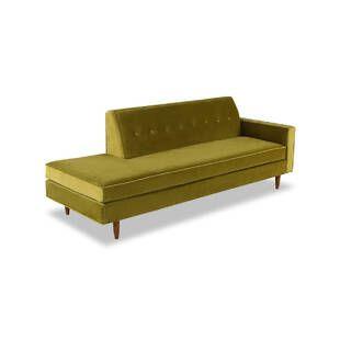 Прямой диван тахта Eleanor, оливковый