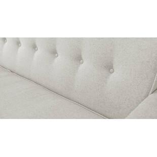 Прямой диван тахта Eleanor, светло-серый