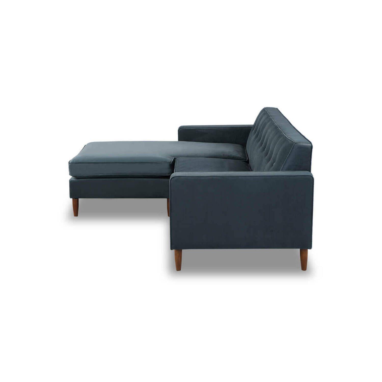 Угловой диван Eleanor, синий