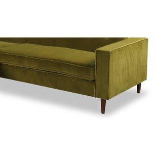 Угловой диван Eleanor, оливковый