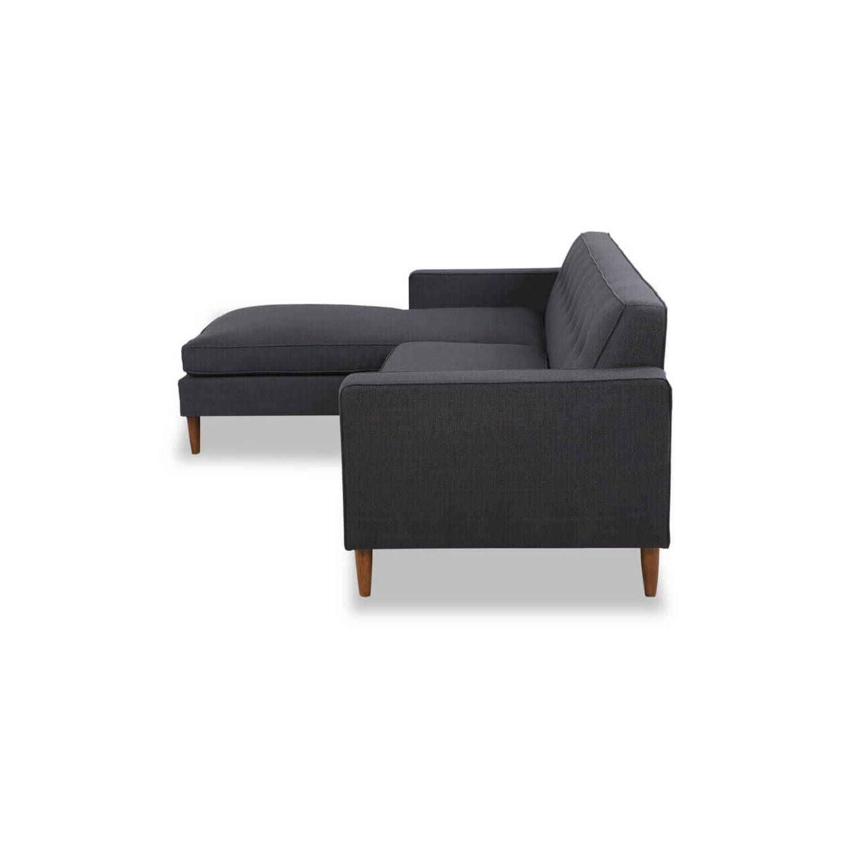 Угловой диван Eleanor, темно-серый