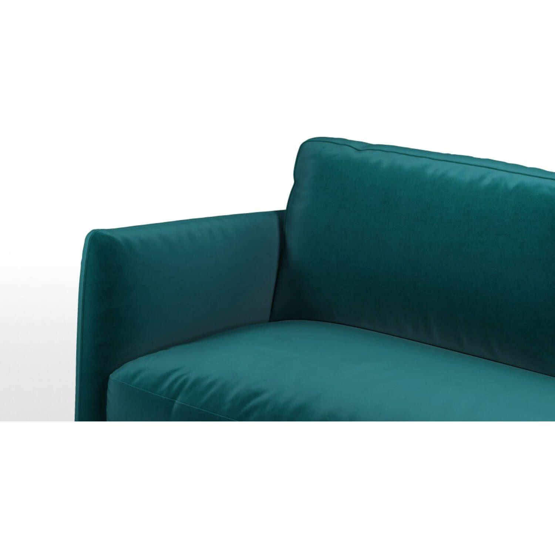 Раскладной изумрудный диван-кровать Fletcher