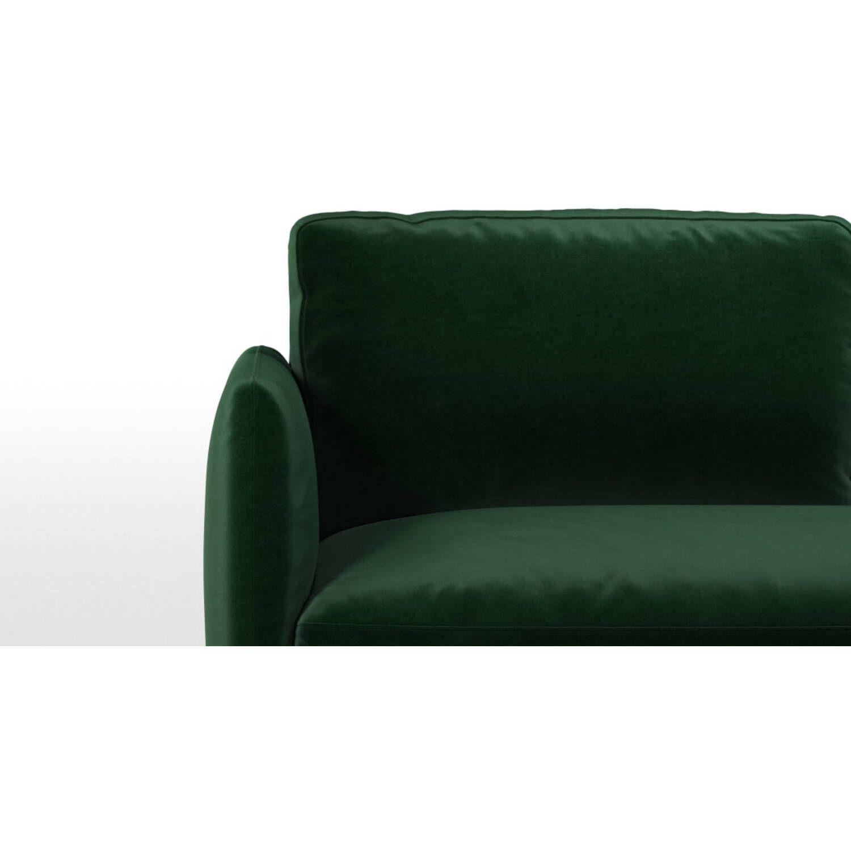 Раскладной зеленый диван-кровать Fletcher