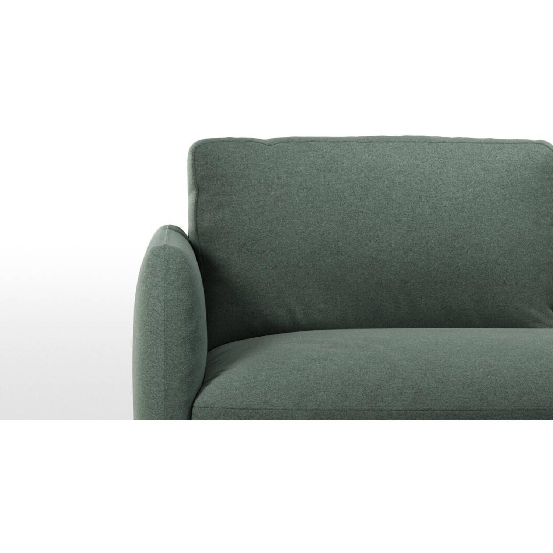 Диван Fletcher, серо-зеленый
