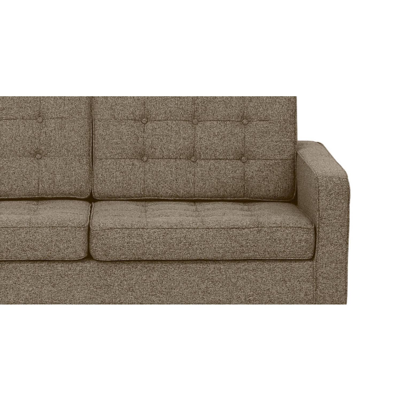 Коричневый трехместный диван Florence, в стиле модерн\лофт