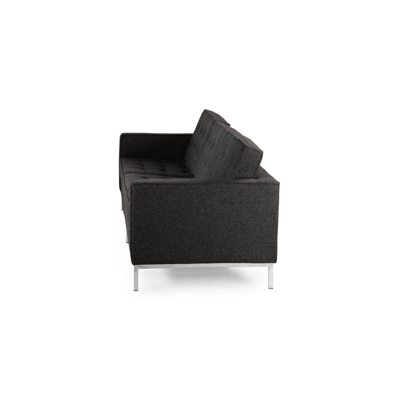 Темно-серый трехместный диван Florence, в стиле модерн\лофт