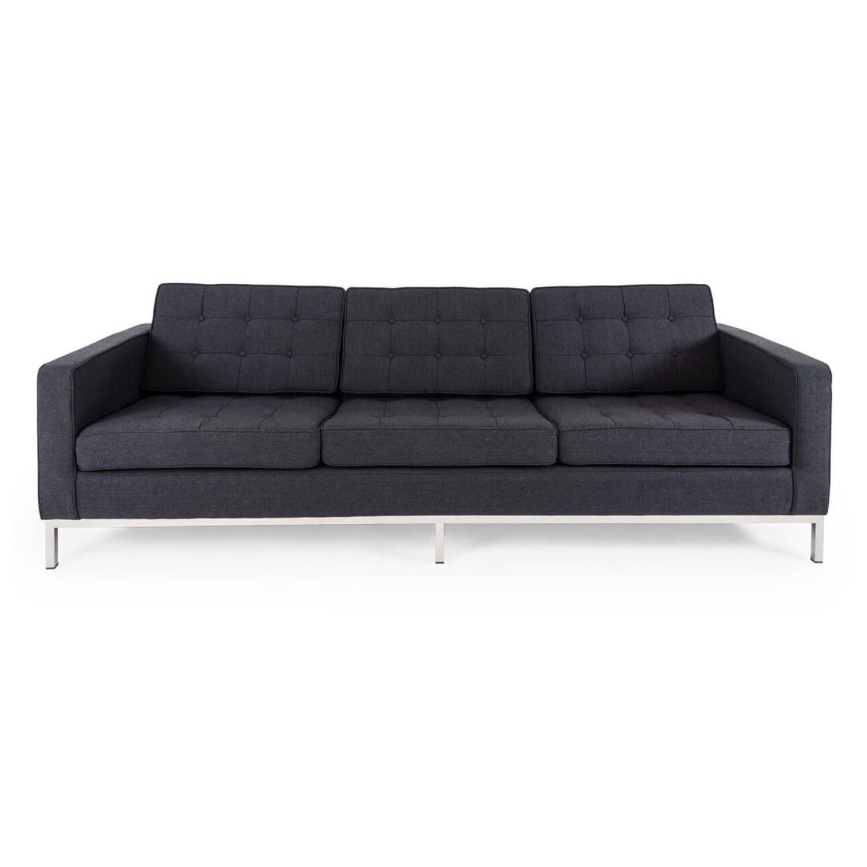 Угольный трехместный диван Florence, в стиле модерн\лофт