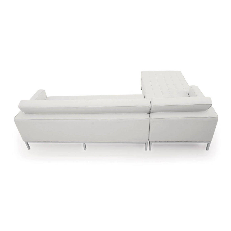 Белый модульный диван Florence