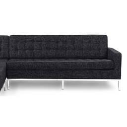 Графитовый модульный диван Florence, в стиле модерн\лофт
