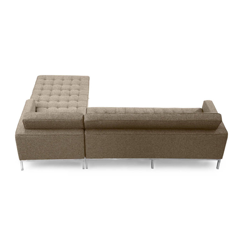Коричневый модульный диван Florence