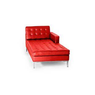Красный кожаный модульный диван Florence, экокожа