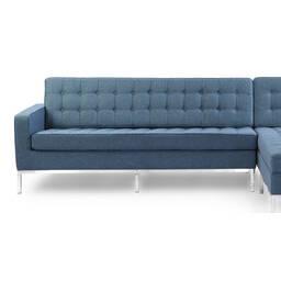 Синий модульный диван Florence, в стиле модерн\лофт