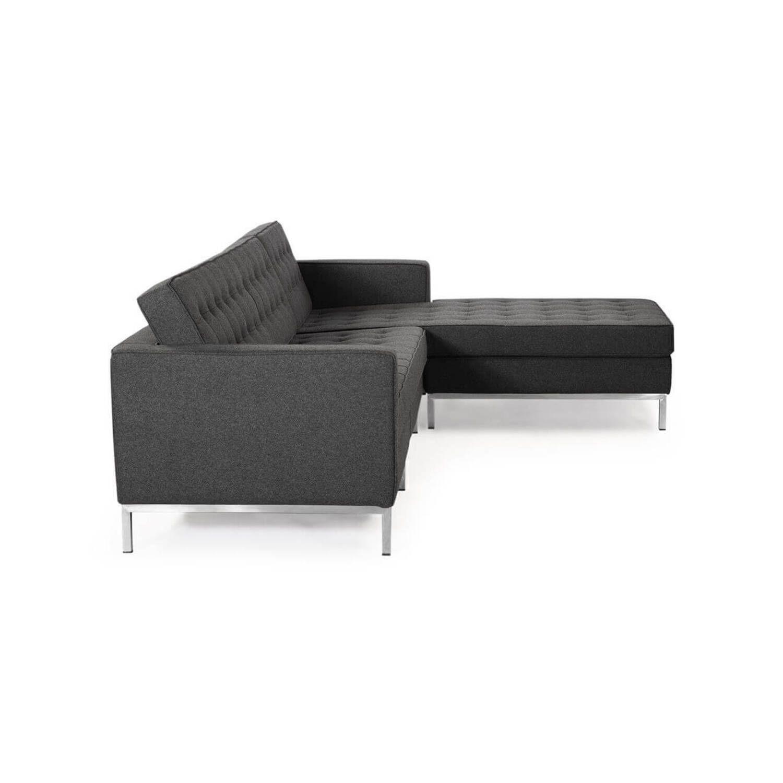 Темно-серый модульный диван Florence, в стиле модерн\лофт