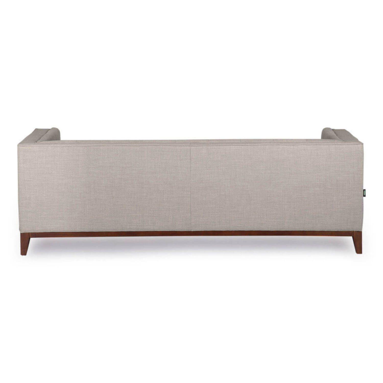 Серый тканевый диван Harrison