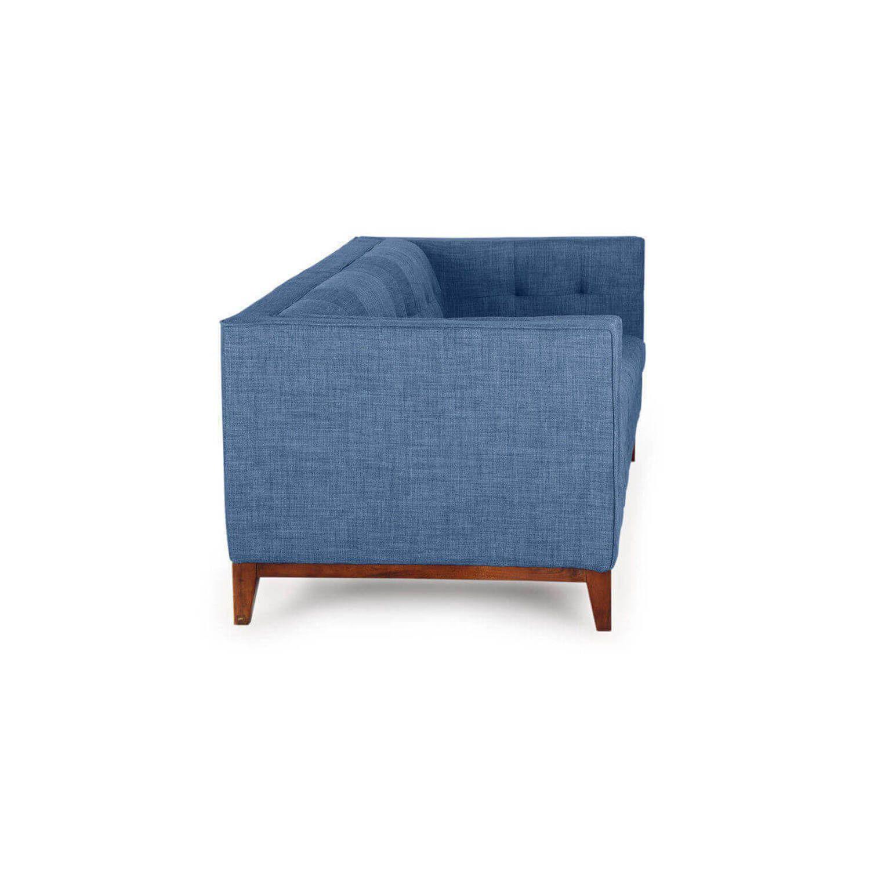 Диван Harrison, синий, ткань