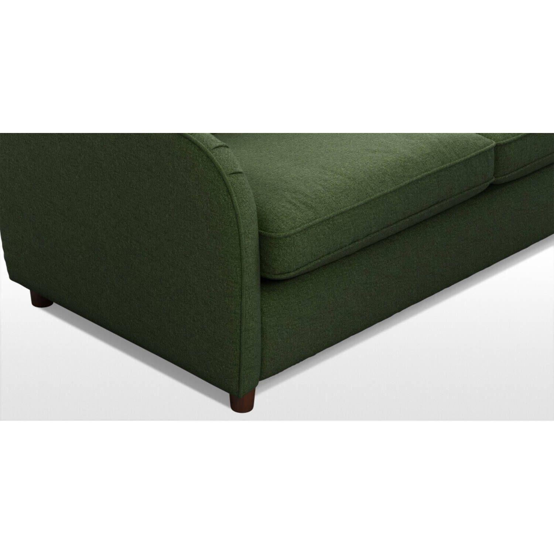 Диван Helena, со спальным механизмом, зеленый