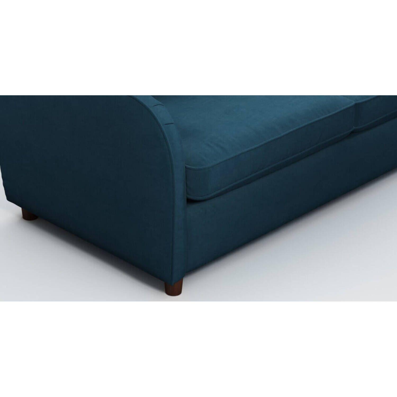 Диван Helena со спальным механизмом, синий