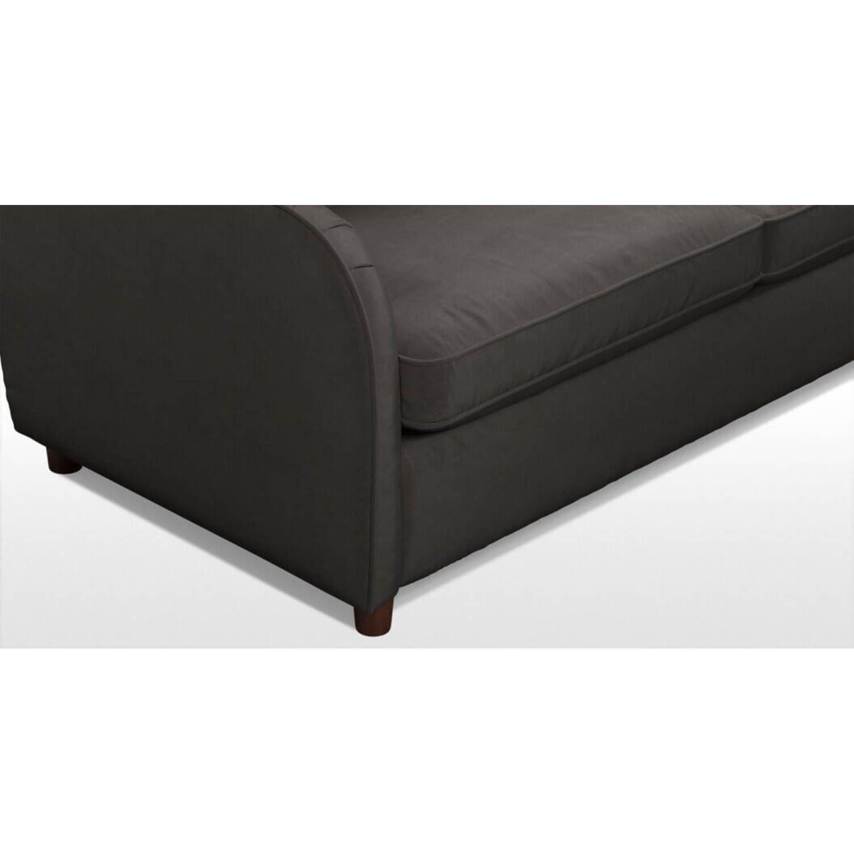 Диван Helena, со спальным механизмом, темно-серый