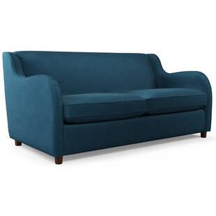 Диван Helena, со спальным механизмом, синий