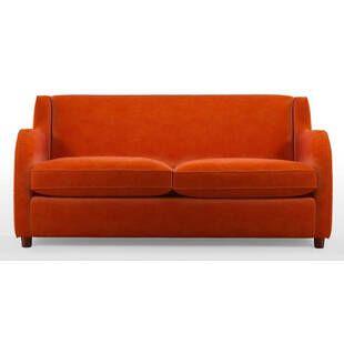 Диван Helena, со спальным механизмом, оранжевый