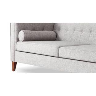 Светло-серый диван Jefferson, ткань