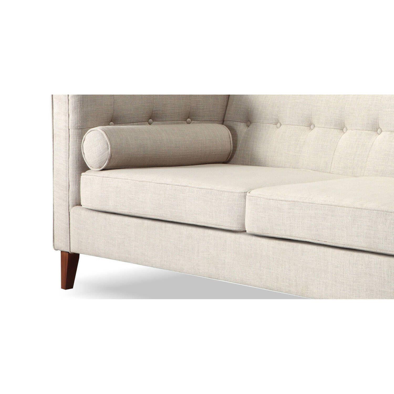 Белый тканевый диван Jefferson, в стиле классический модерн & лофт
