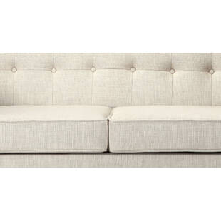 Белый диван Jefferson, ткань