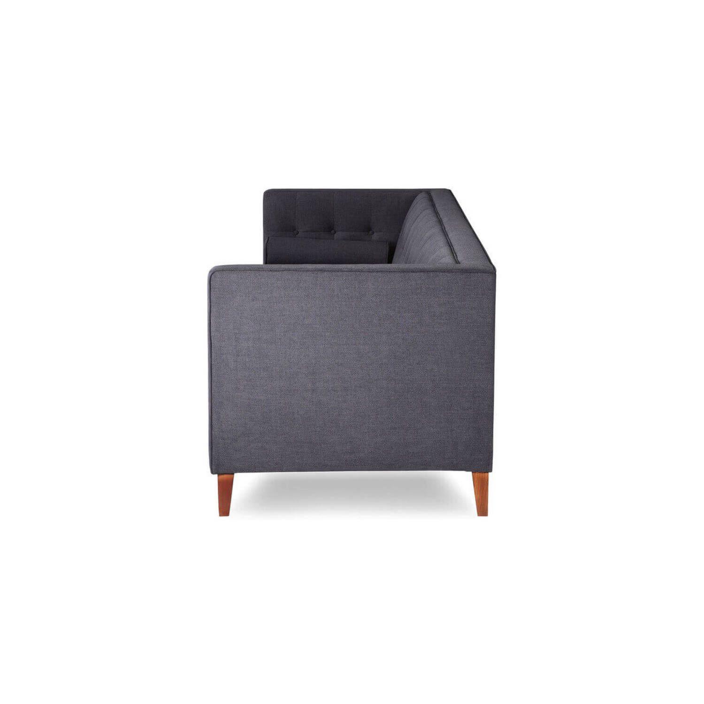 Серый тканевый диван Jefferson, в стиле классический модерн & лофт