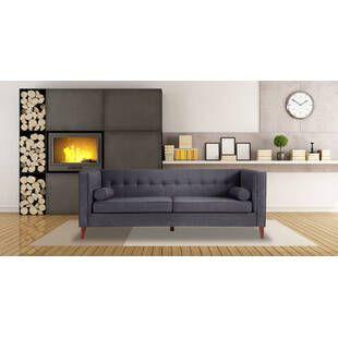 Серый диван Jefferson, ткань