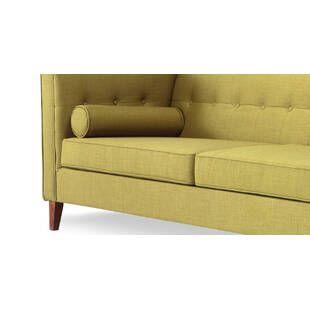 Зеленый диван Jefferson, ткань