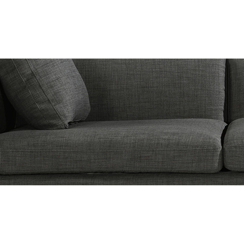 Диван Loft & Mid-Century, темно-серый