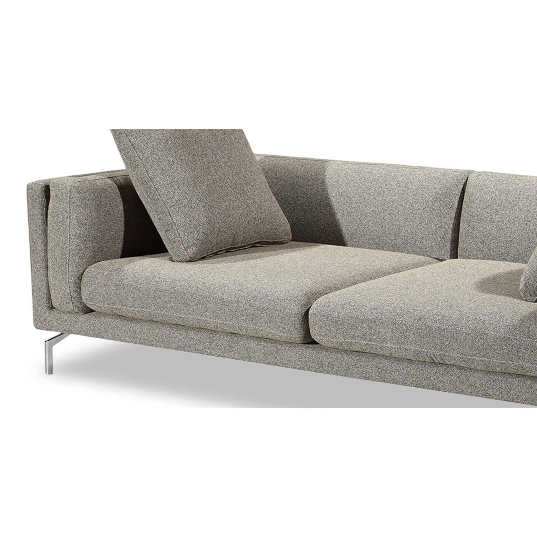 Дизайнерский светло-коричневый диван Loft & Mid-Century, в стиле лофт/модерн