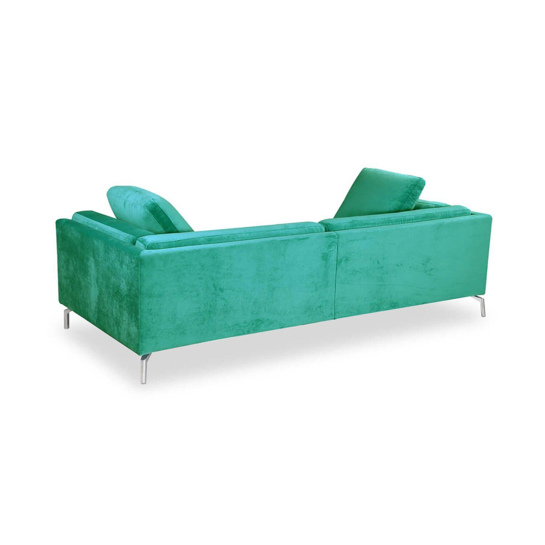 Дизайнерский зеленый диван Loft & Mid-Century, в стиле лофт/модерн