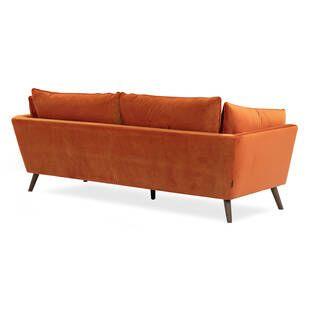 Диван Michelle, прямой, оранжевый