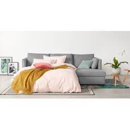 Диван-кровать Milner, угловой, светло-серый