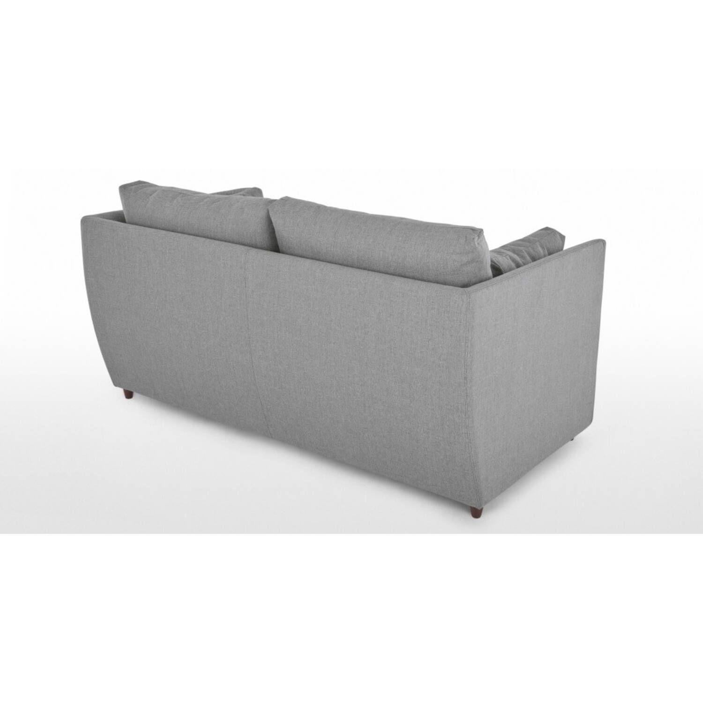 Диван-кровать Milner, прямой, светло-серый