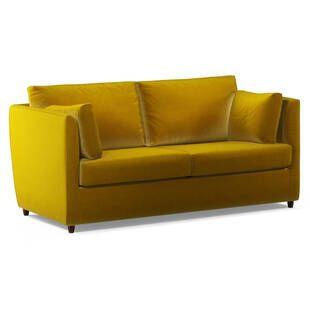 Диван Milner прямой, желтый
