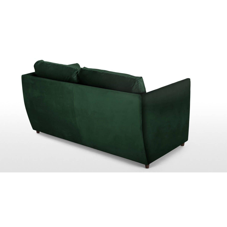 Диван-кровать Milner, прямой, зеленый