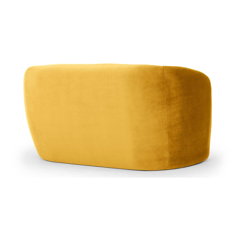 Диван Miranda, прямой, желтый