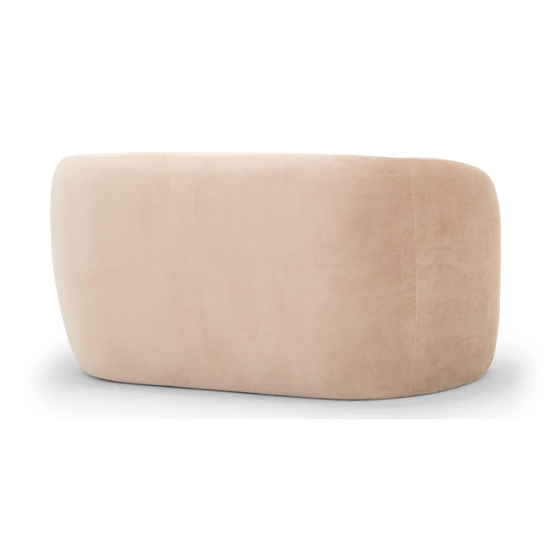 Диван Miranda, прямой, розовый