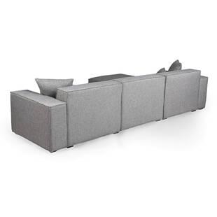 Диван Modus, модульный, секционный, светло-серый