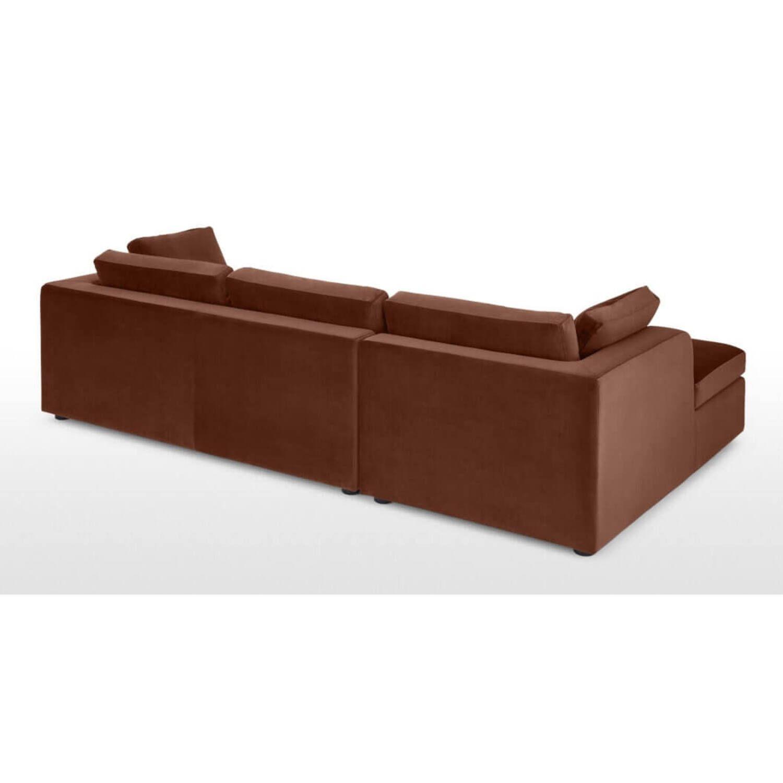 Диван со спальным механизмом Mogen угловой, коричневый