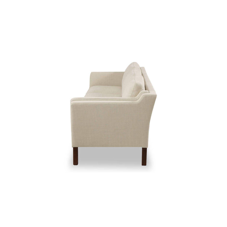 Кремовый прямой диван Monroe, скандинавский эко дизайн