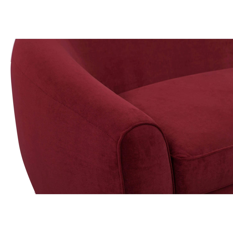 Диван Murphy в современном стиле, красный