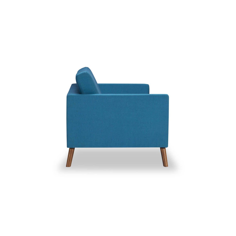 Синий Диван Mid-Century