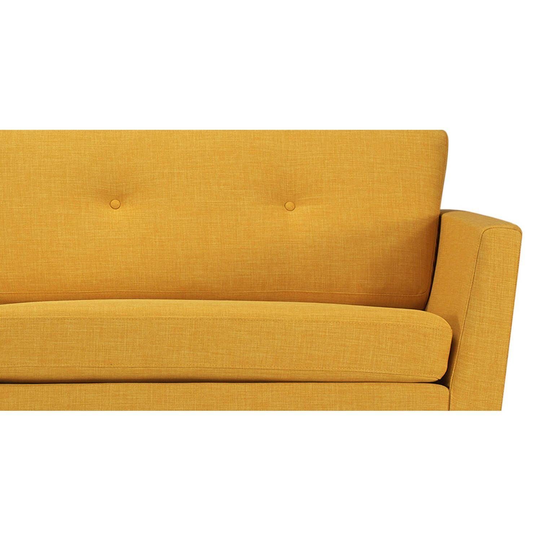 Желтый Диван Mid-Century