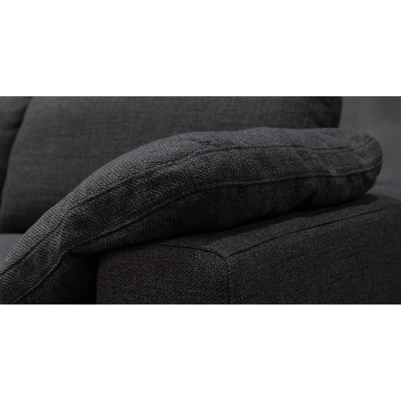 Диван Nest, модульный, с оттоманкой, серый