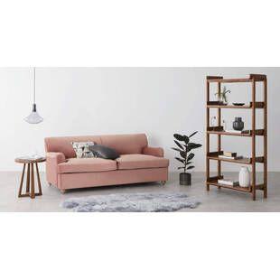 Диван Orson, прямой, розовый